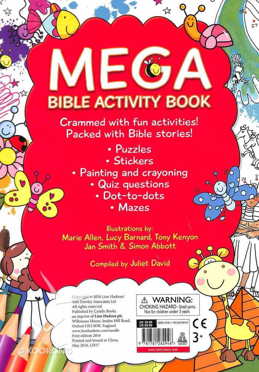 Mega Bible Activity Book Paperback