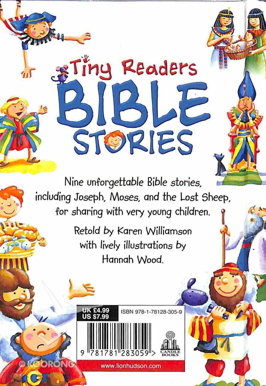 Bible Stories (Tiny Readers Series) Hardback