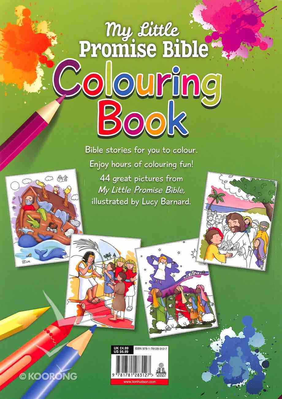 Colouring Book: My Little Promise Bible Paperback