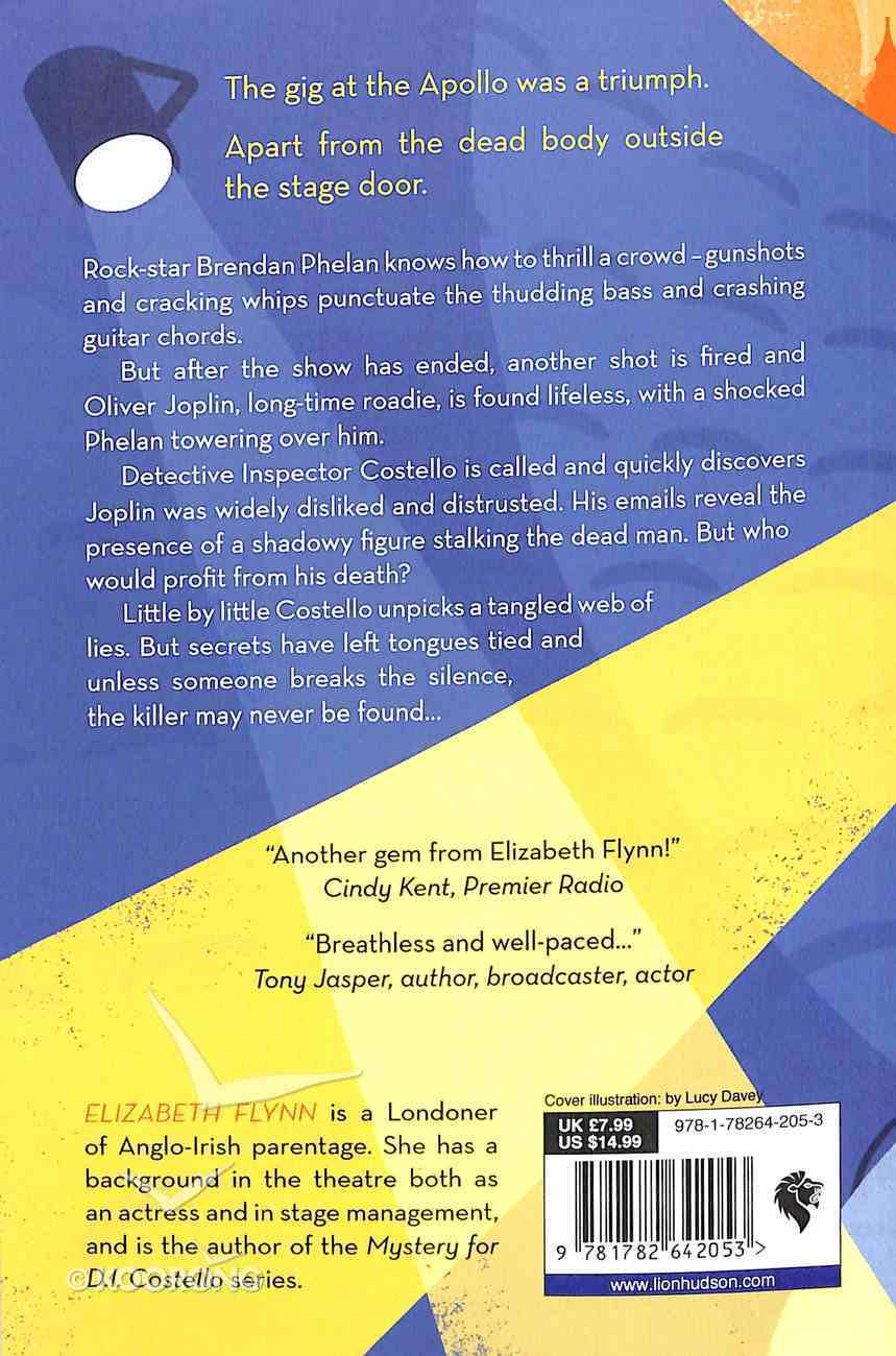 The End of the Roadie (A Mystery For D I Costello Series) Paperback