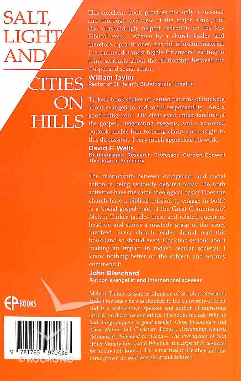 Salt, Light and Cities on Hills Paperback