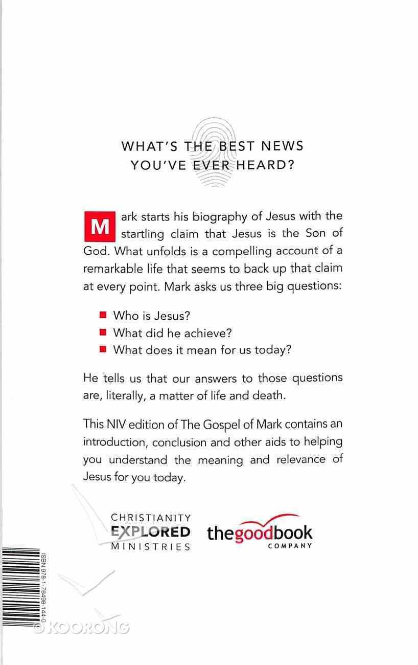 Gospel of Mark (Black Letter Edition) (Christianity Explored Series) Paperback