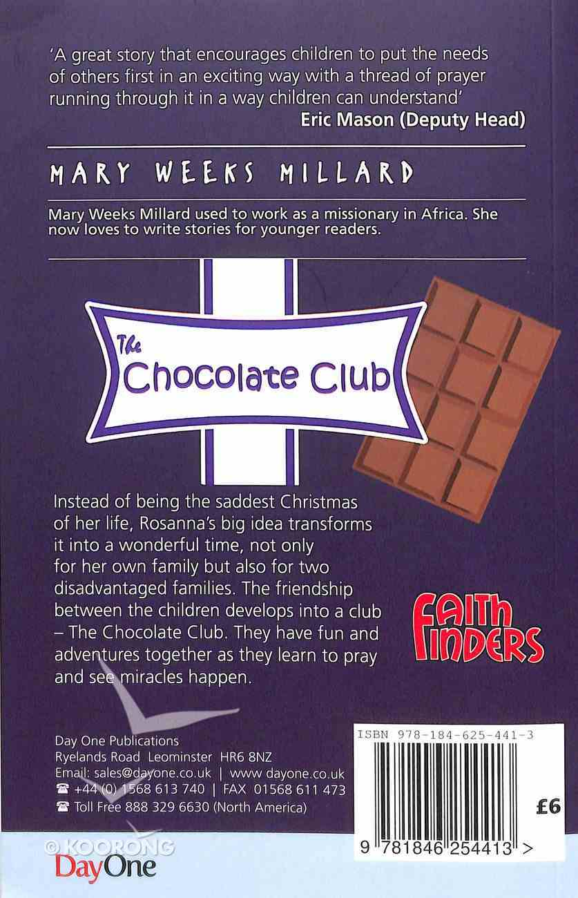 The Chocolate Club (Faith Finders Series) Paperback
