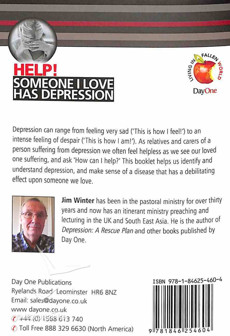 Someone I Love Has Depression (Help! Series (Dayone)) Booklet