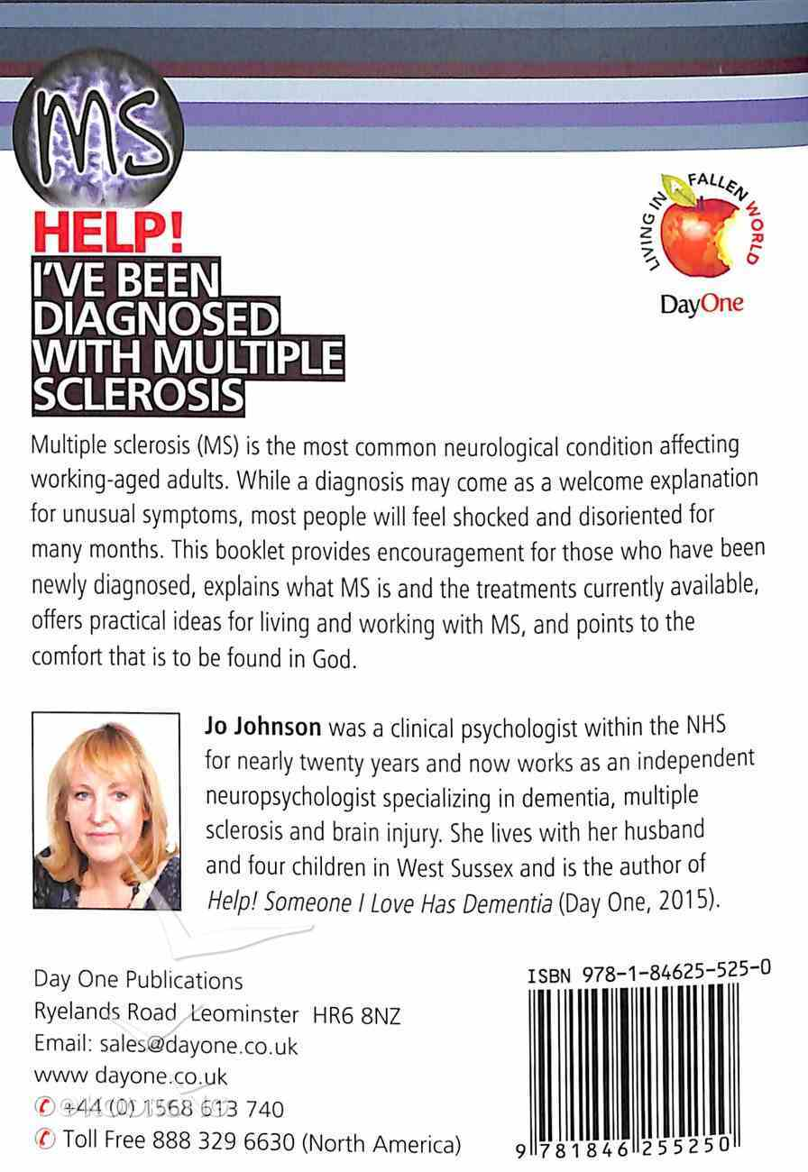 I've Been Diagnosed With Multiple Sclerosis (Help! Series (Dayone)) Booklet