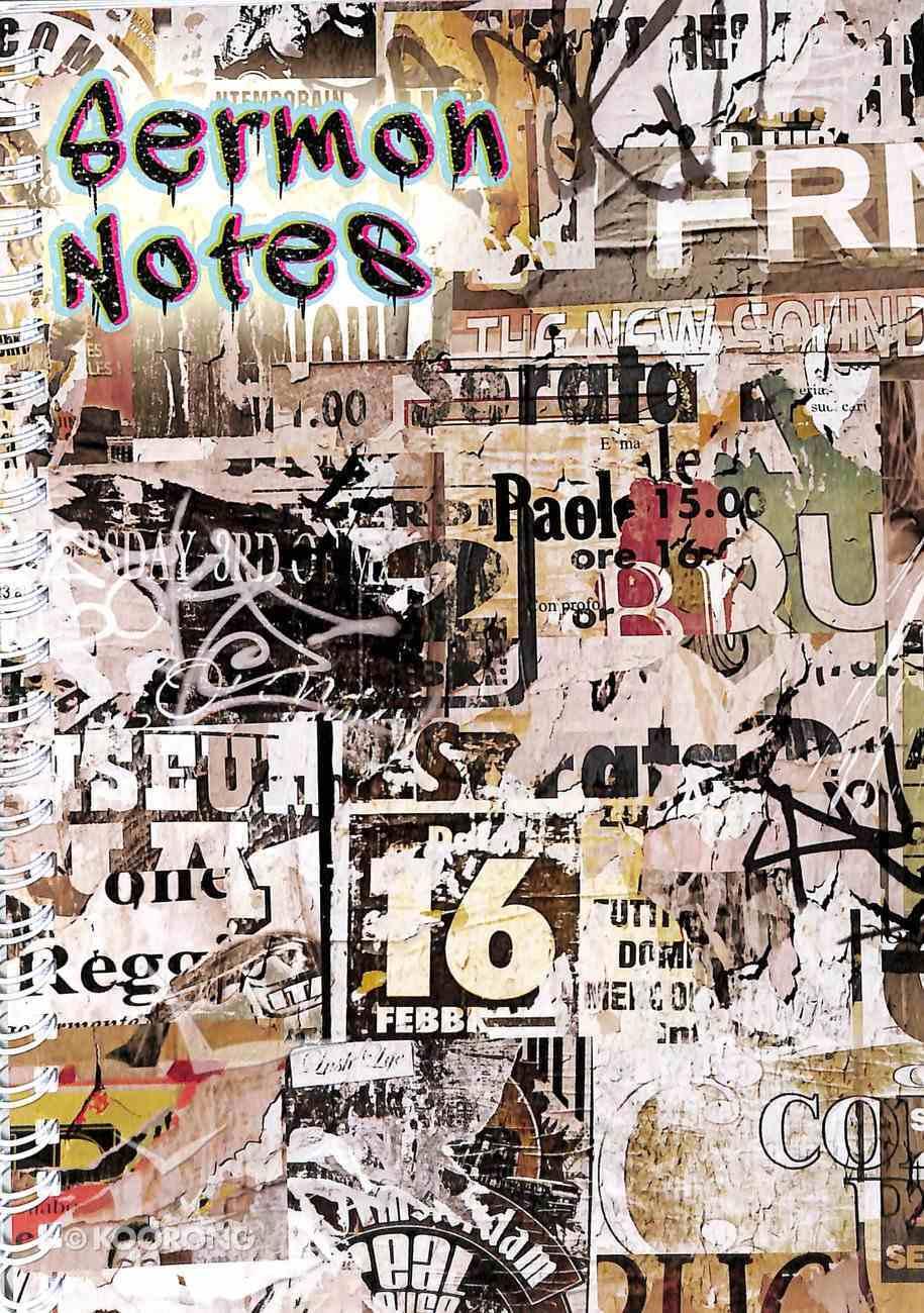 Sermon Notes: Graffiti Cover Spiral