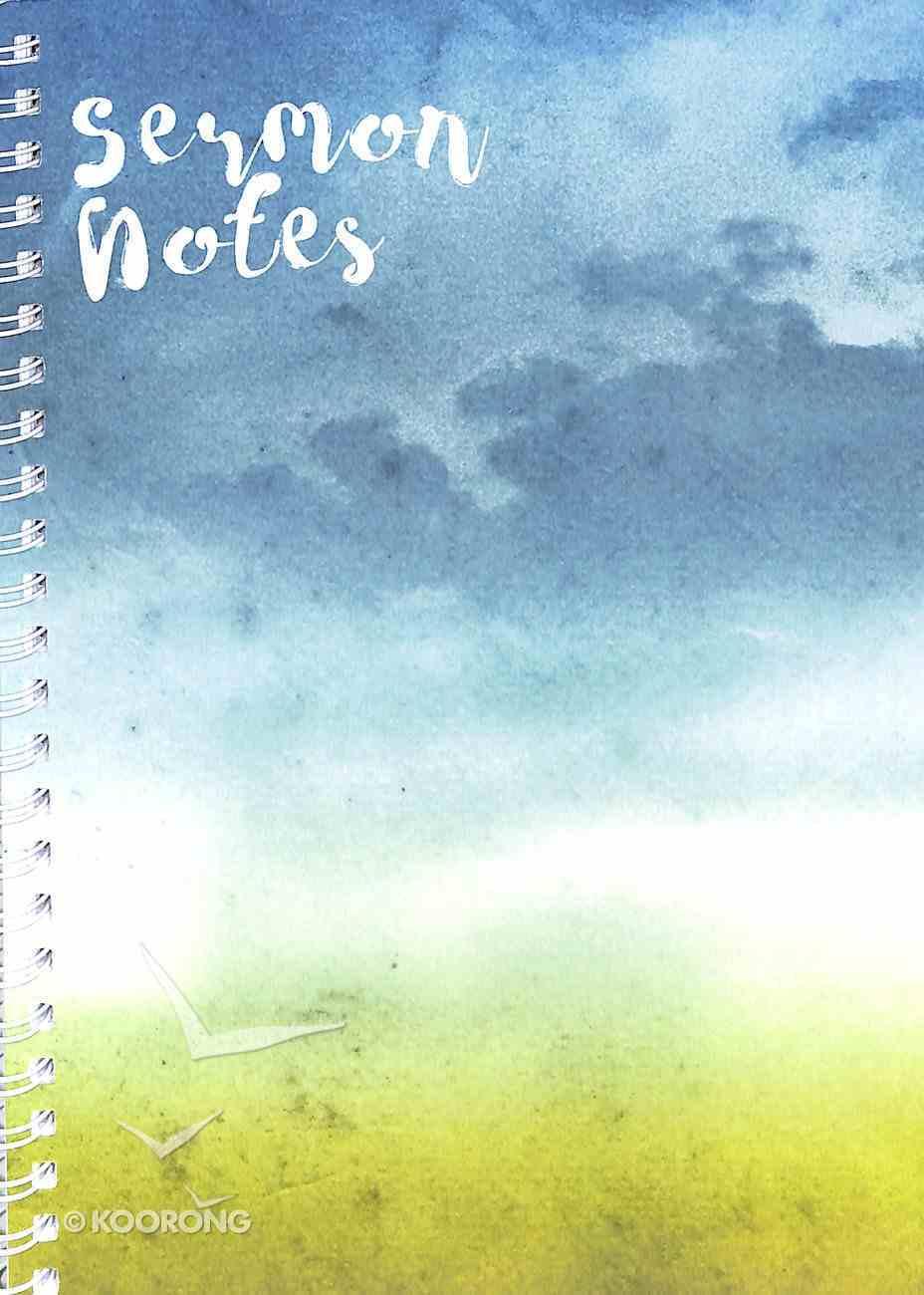 Sermon Notes: Watercolour Cover Spiral