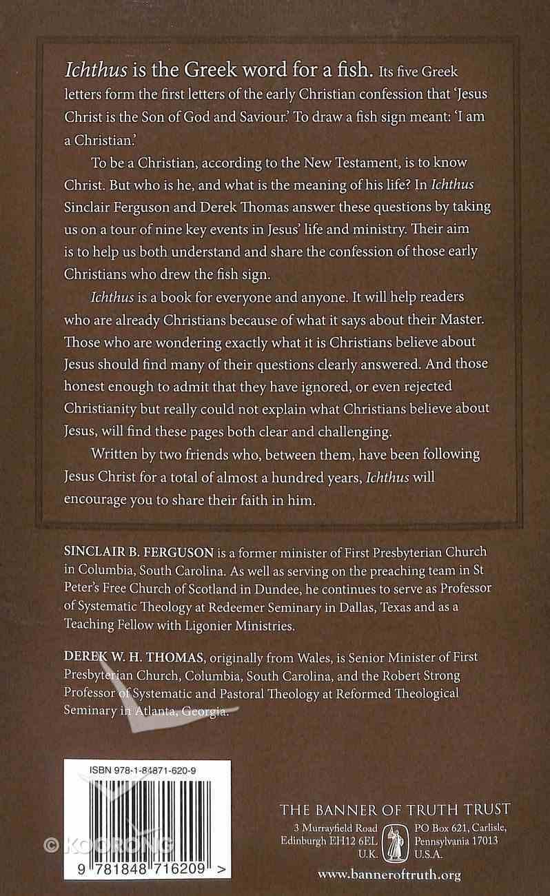 Icthus - Jesus Christ, God's Son, the Saviour Paperback