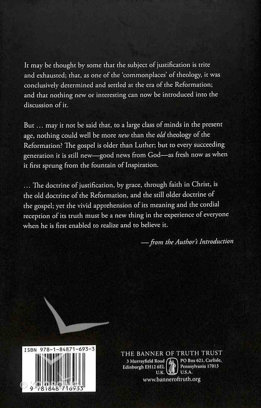 The Doctrine of Justification Hardback