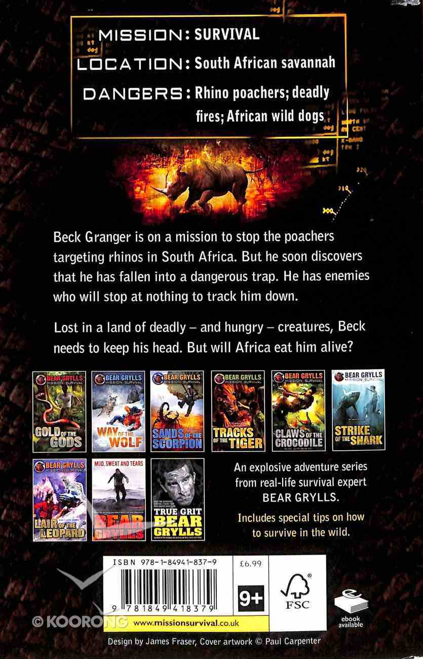 Rage of the Rhino (#07 in Mission Survival Series) Paperback