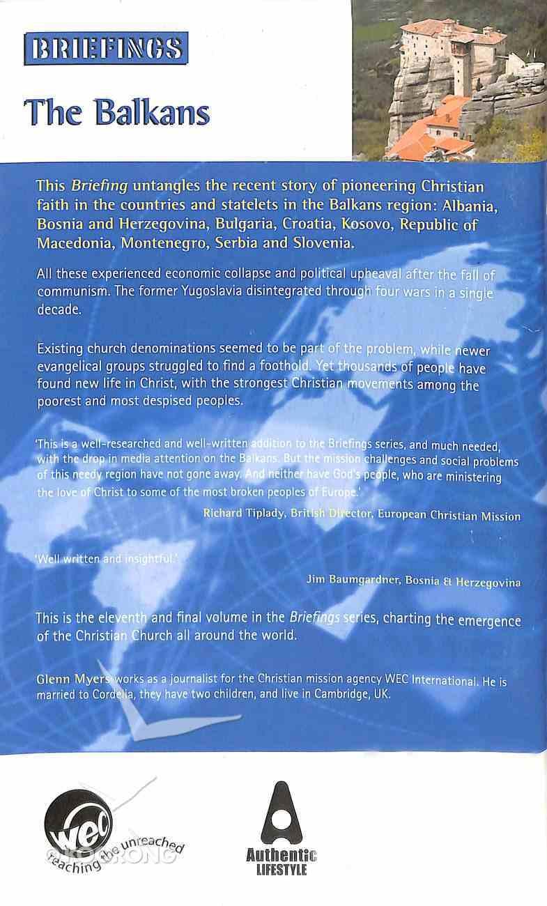The Balkans (Briefings Series) Paperback