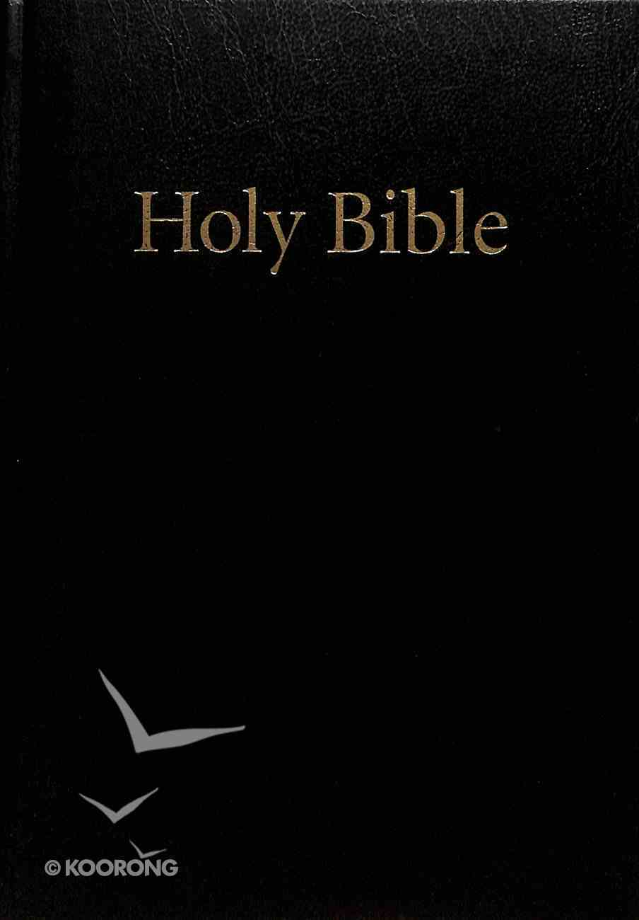 KJV Windsor Holy Bible Black Compact (Black Letter Edition) Hardback
