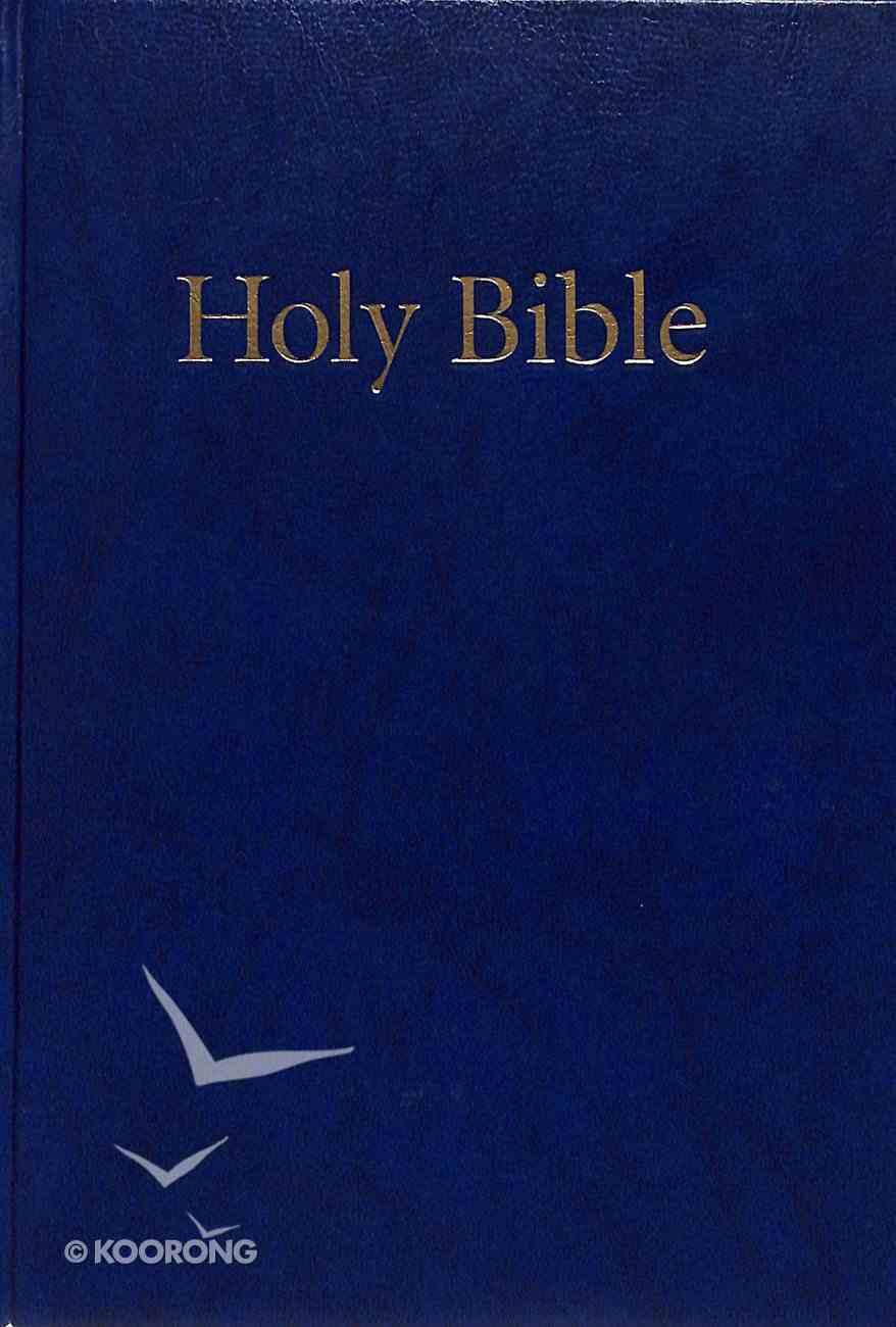 KJV Windsor Holy Bible Blue Compact (Black Letter Edition) Hardback