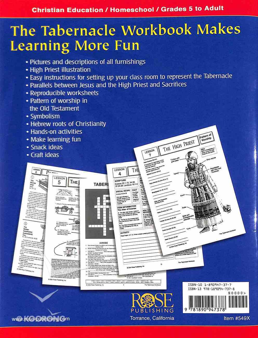 The Tabernacle Workbook Paperback