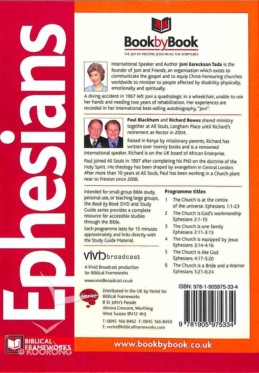 Ephesians (Dvd+Study Guide) (#49 in Book By Book Bible Study Course Series) Pack