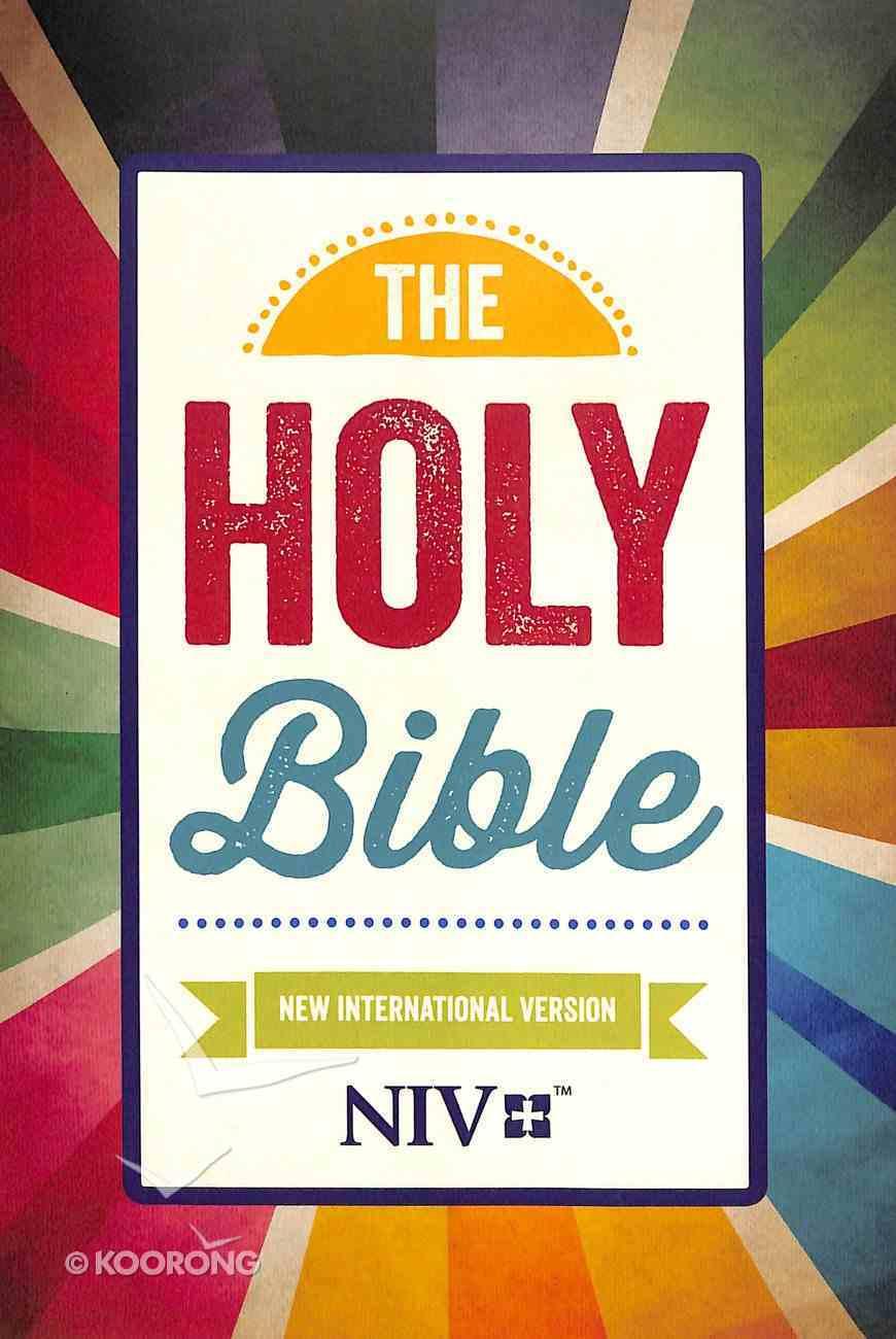 NIV Popular Paperback Bible Rays Paperback