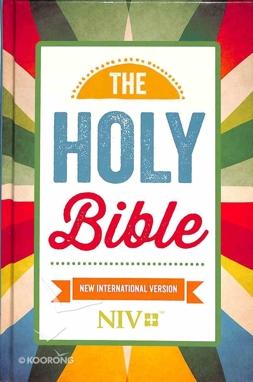 NIV Popular Bible Rays Cover Hardback