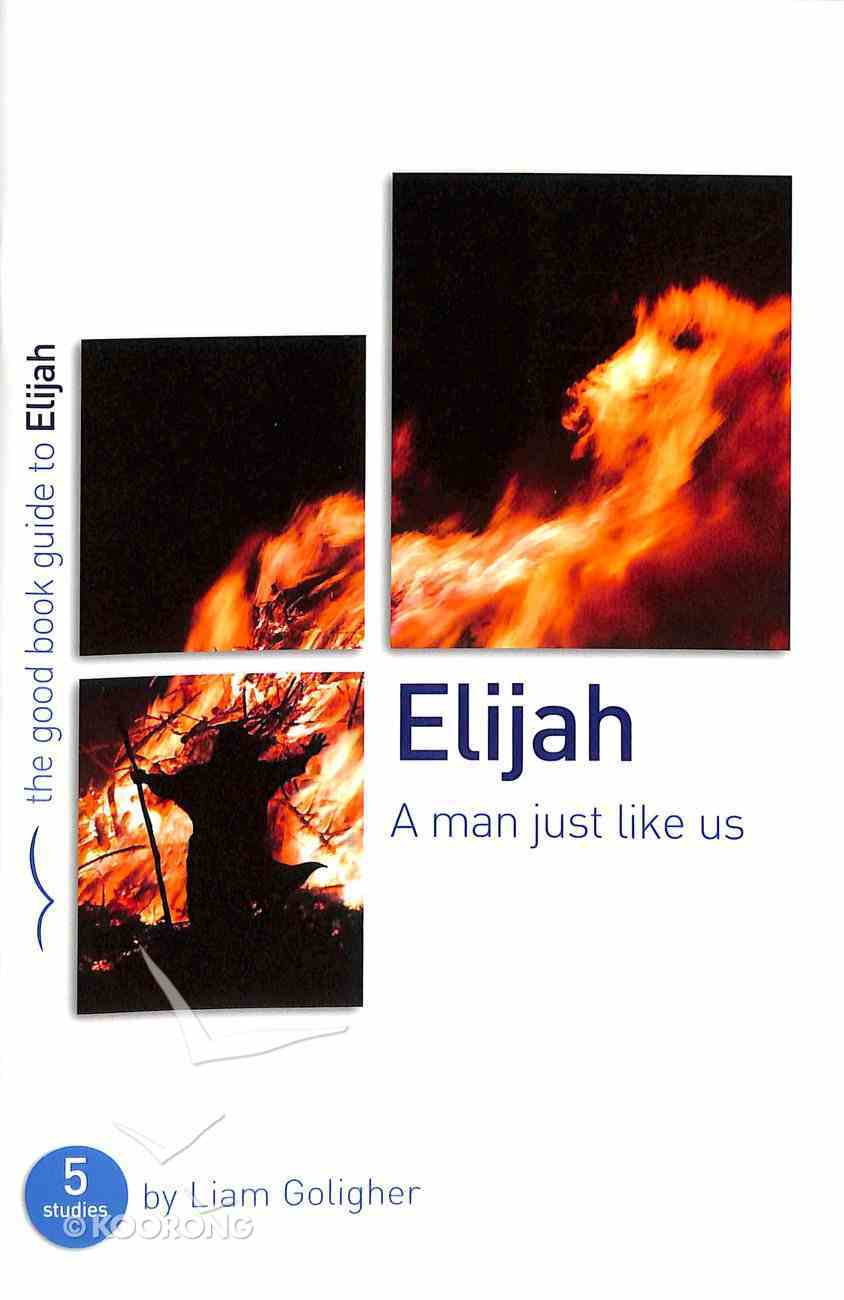Elijah - a Man Just Like Us (The Good Book Guides Series) Paperback