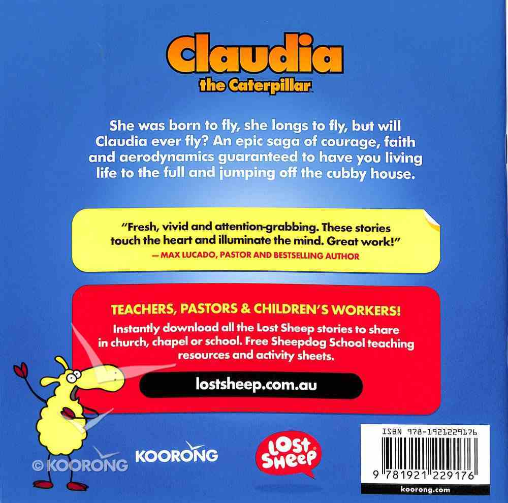 Claudia, the Caterpillar (Lost Sheep Series) Paperback