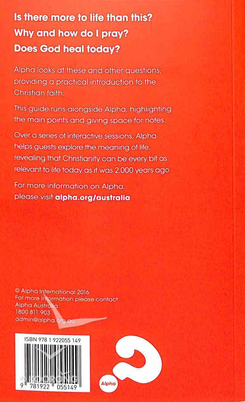 Guide Revised 2016 (Manual) (Alpha Course) Paperback