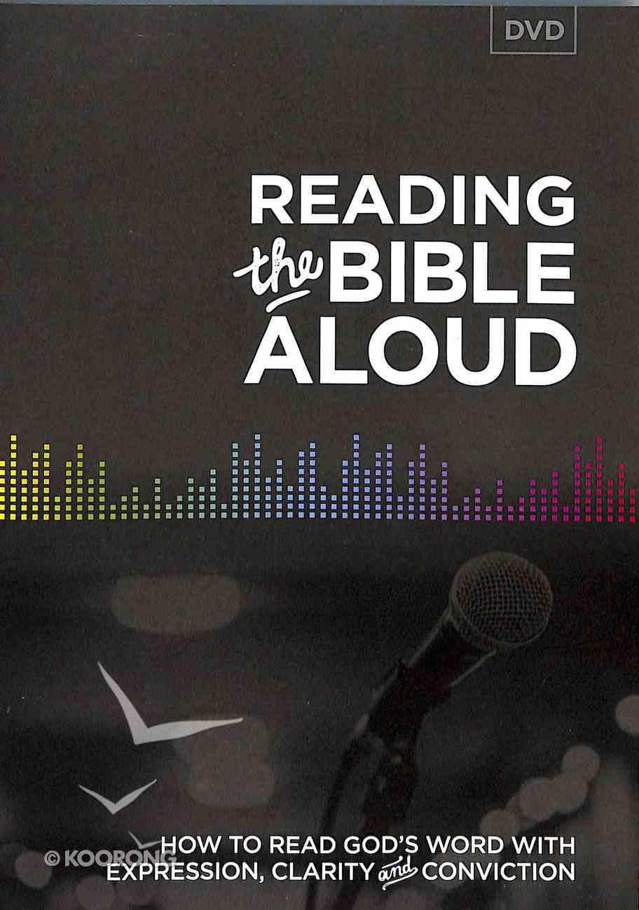 Reading the Bible Aloud DVD DVD