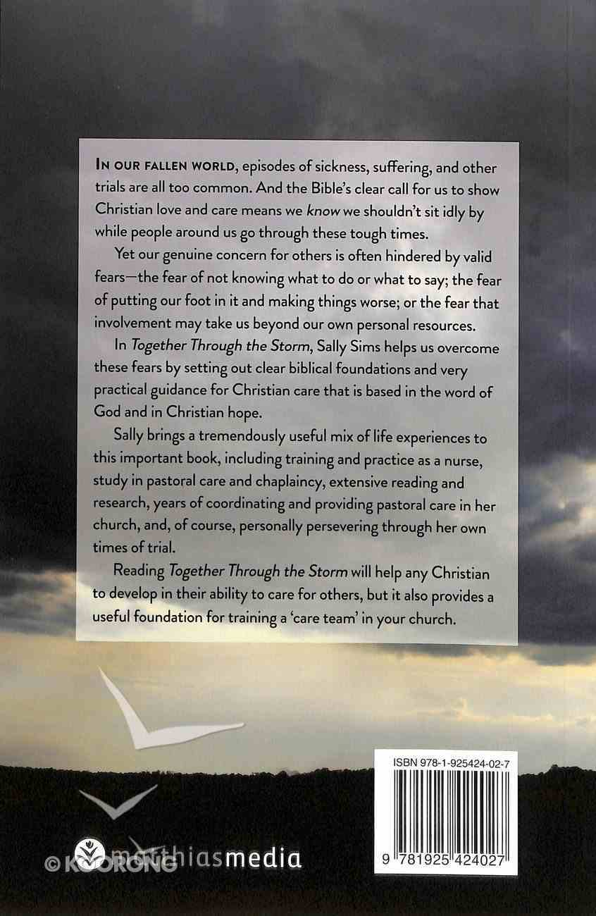 Together Through the Storm: A Practical Guide to Christian Care Paperback