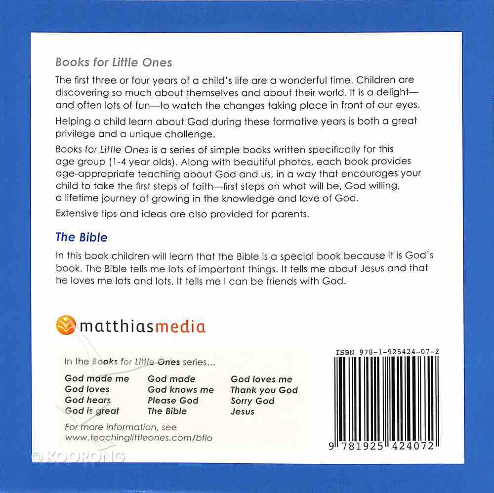 The Bible (Books For Little Ones Series) Paperback