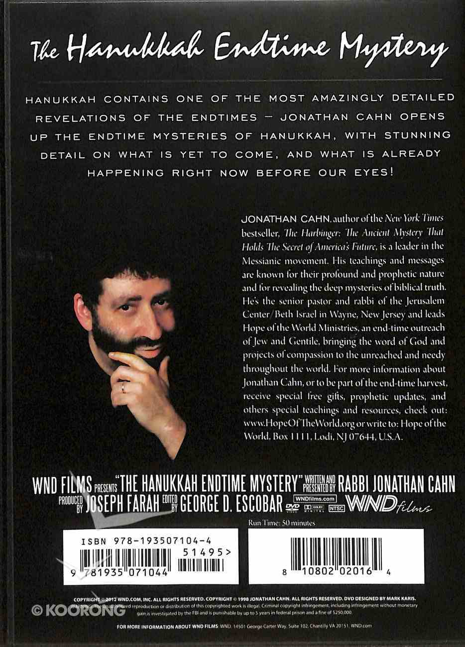 The Hanukkah Endtime Mysteries DVD