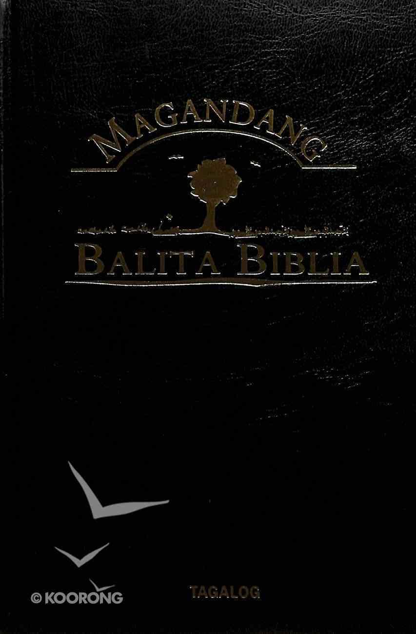 Tagalog Rev Popular Version Bible Burgundy Hardback