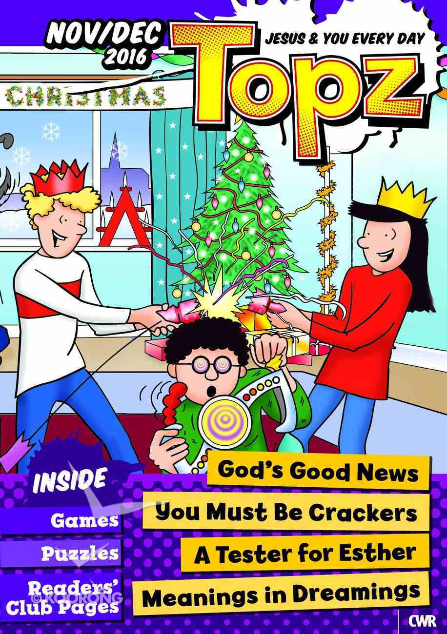 Topz 2016 #06: Nov-Dec (Every Day With Jesus Series) Paperback