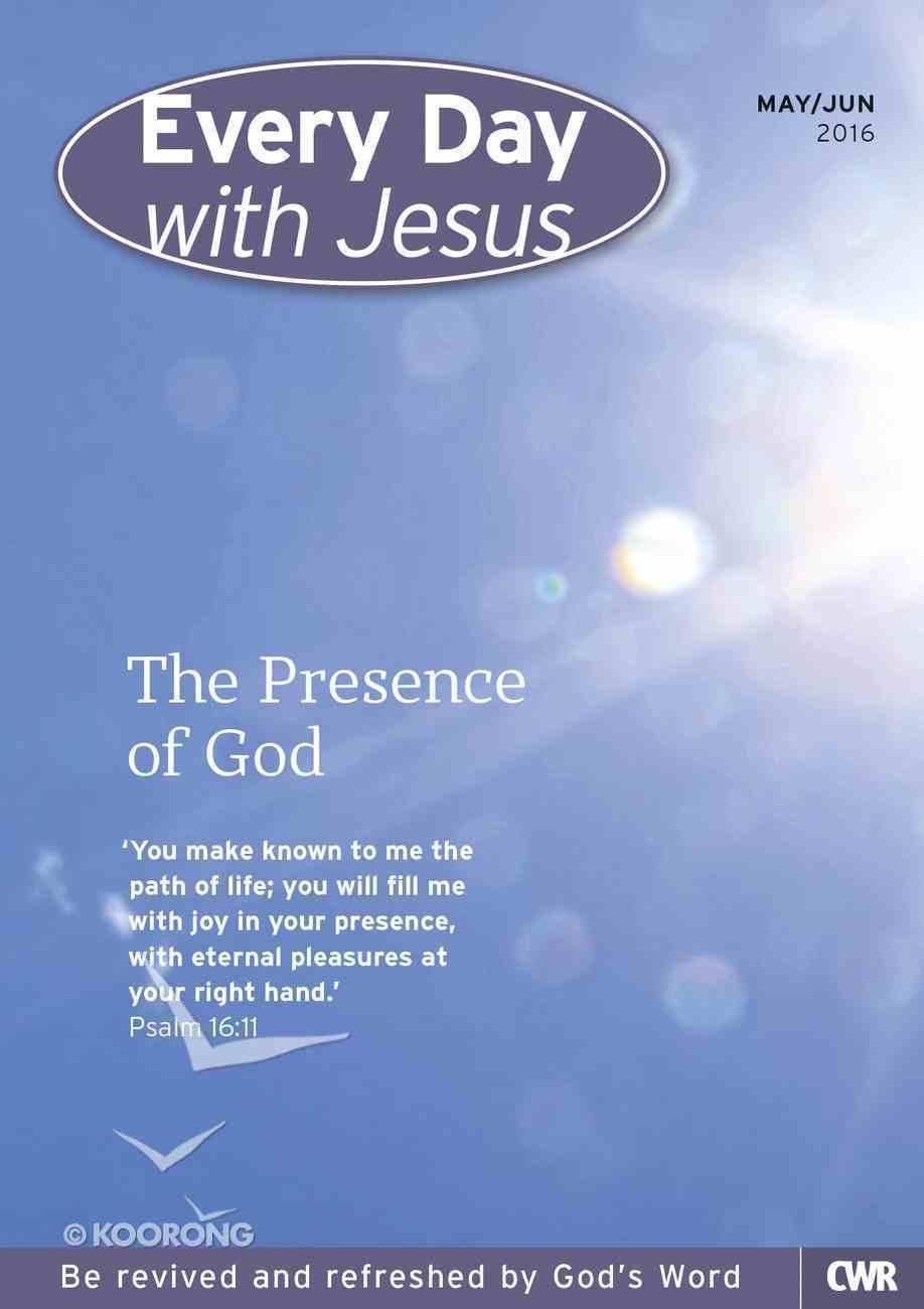 Std 2016 #03: May-Jun (Every Day With Jesus Series) Paperback