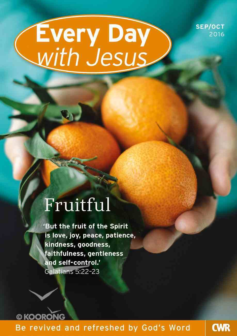 Std 2016 #05: Sep-Oct (Every Day With Jesus Series) Paperback