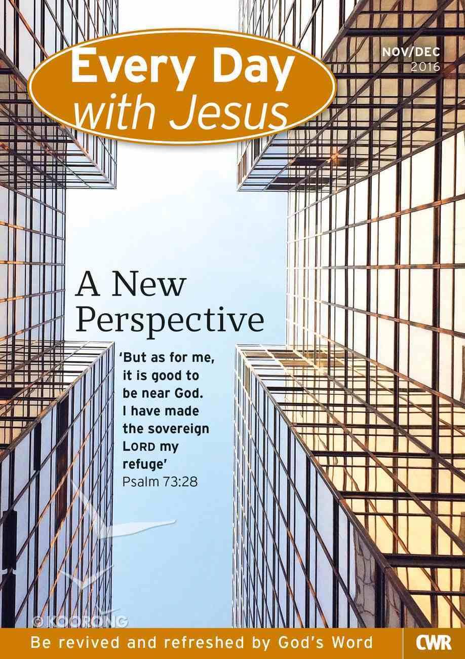Std 2016 #06: Nov-Dec (Every Day With Jesus Series) Paperback