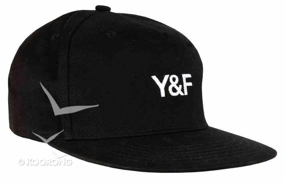 Cap: Black Snap Back Y & F Soft Goods