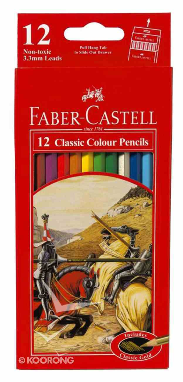 Faber-Castell Classic Colour Pencils Set of 12 Stationery