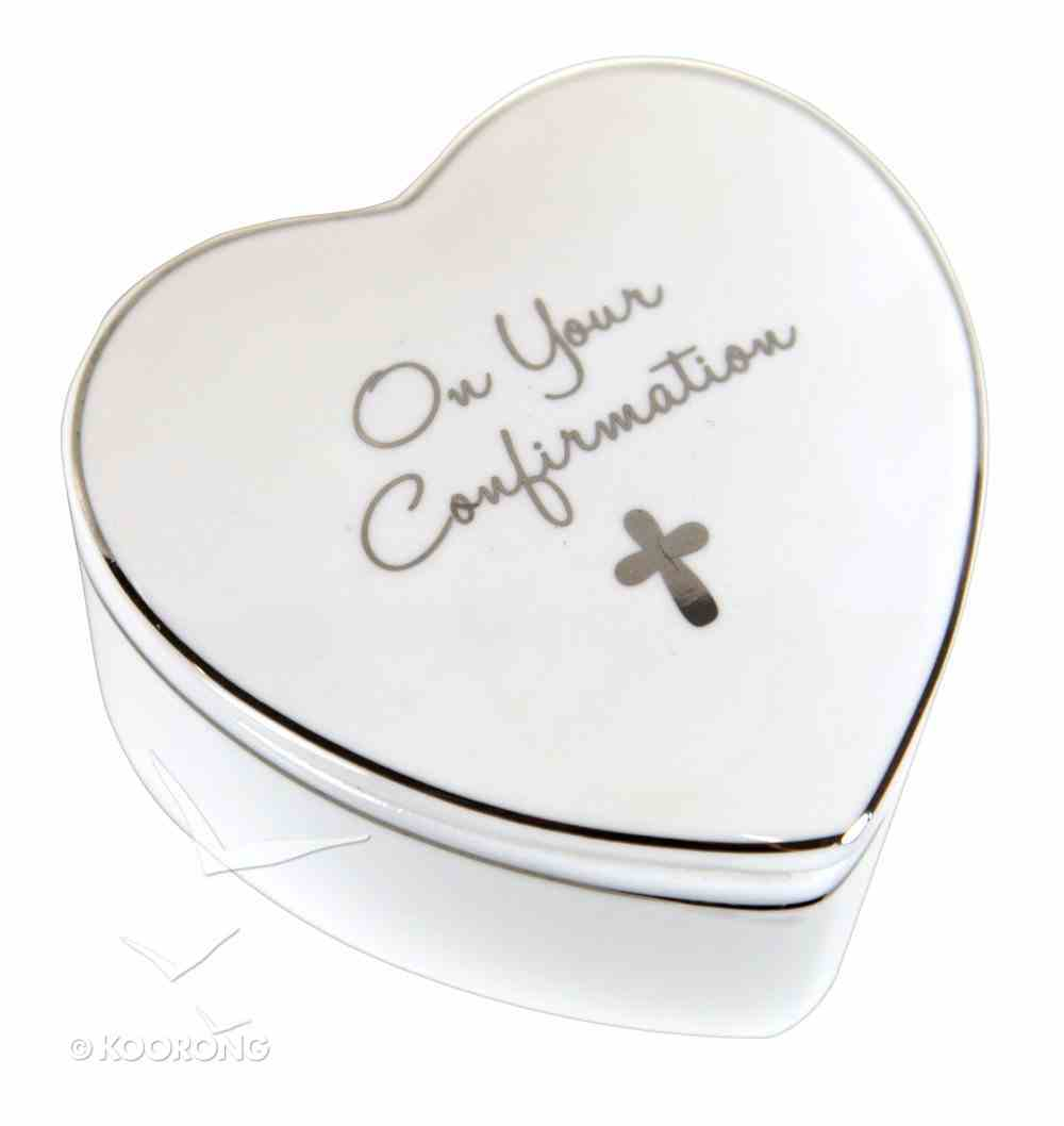 On Your Confirmation Trinket Box Homeware