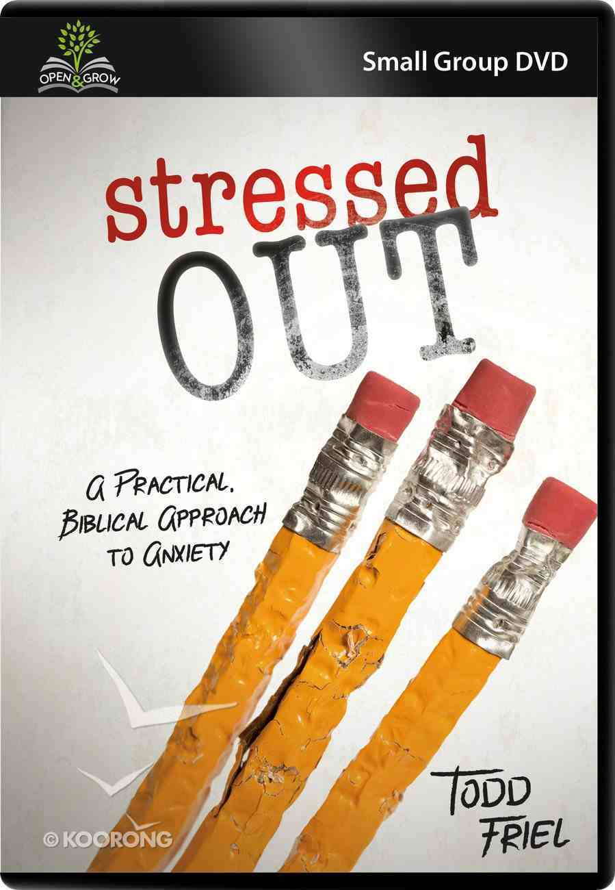 Stressed Out (Small Group DVD) (Open & Grow Series) DVD