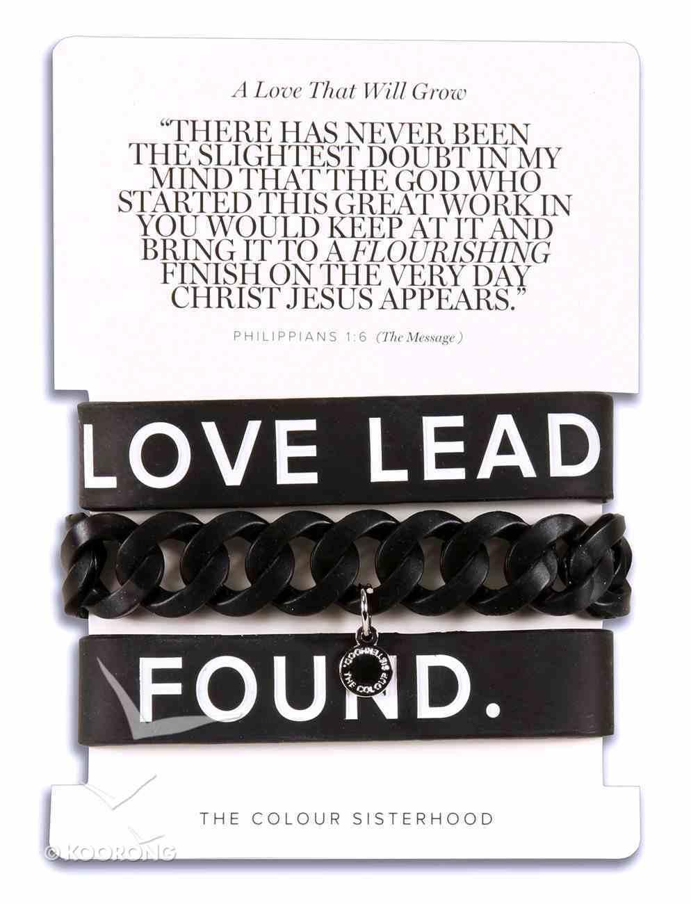 Silicone Bracelets Black: Set of 3 Jewellery