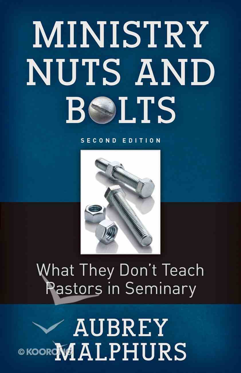 Ministry Nuts and Bolts Paperback