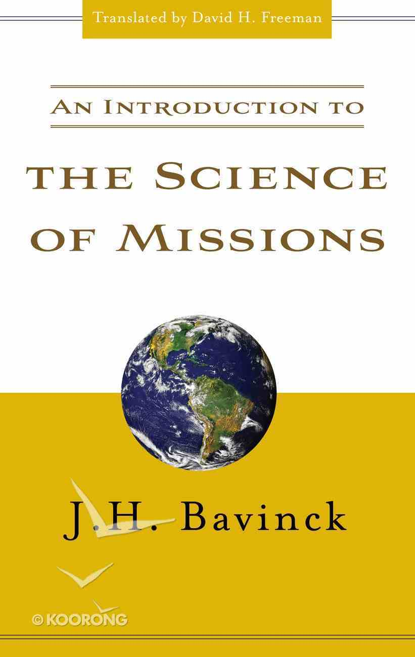 Introduction to Science of Missions Paperback