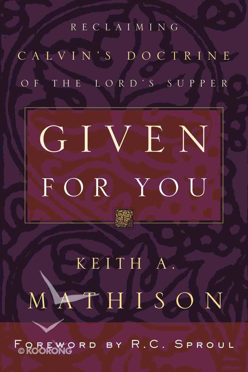 Given For You Paperback