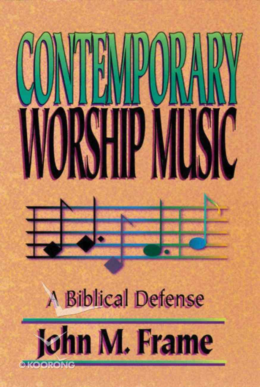 Contemporary Worship Music Paperback