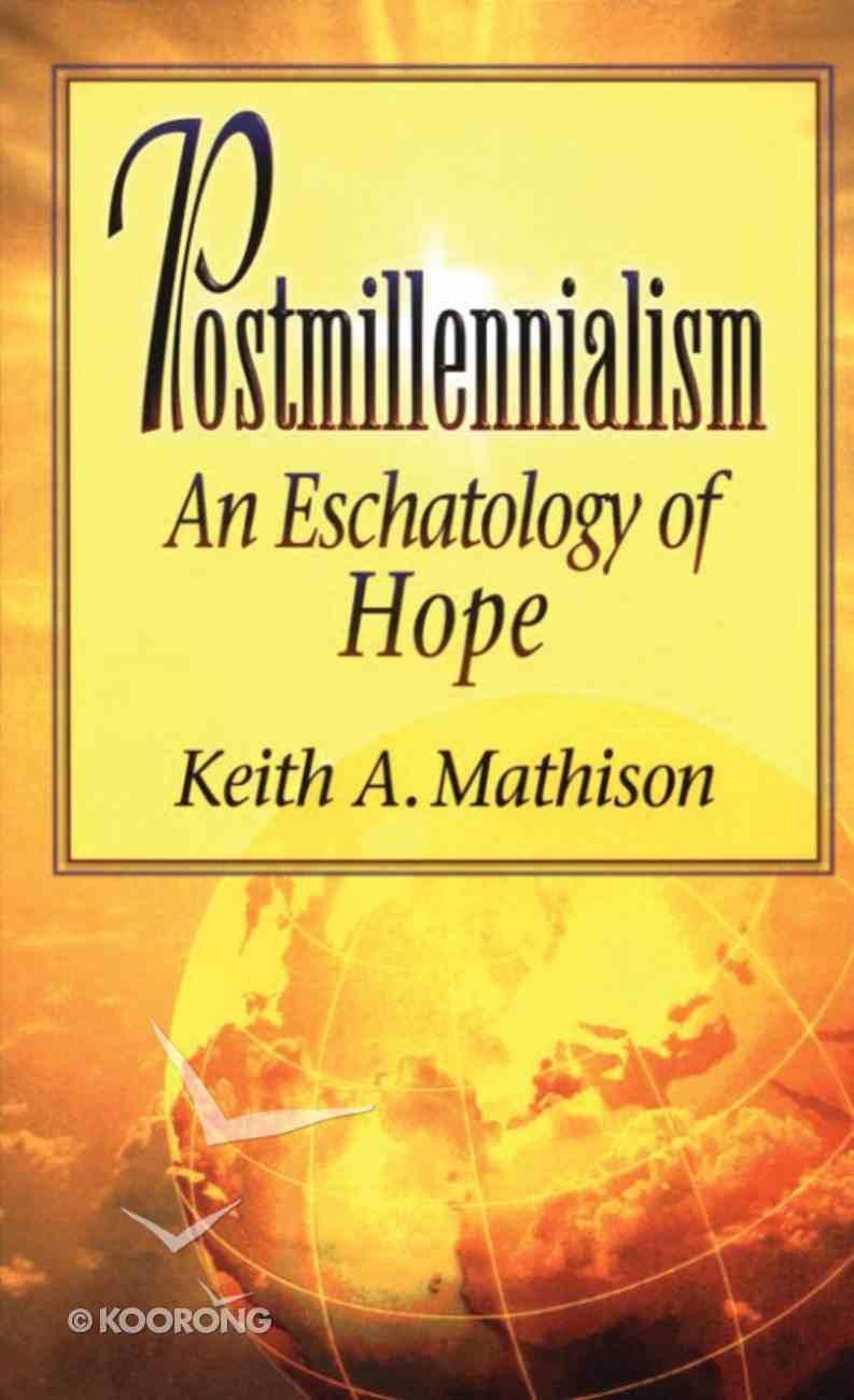 Postmillennialism Paperback