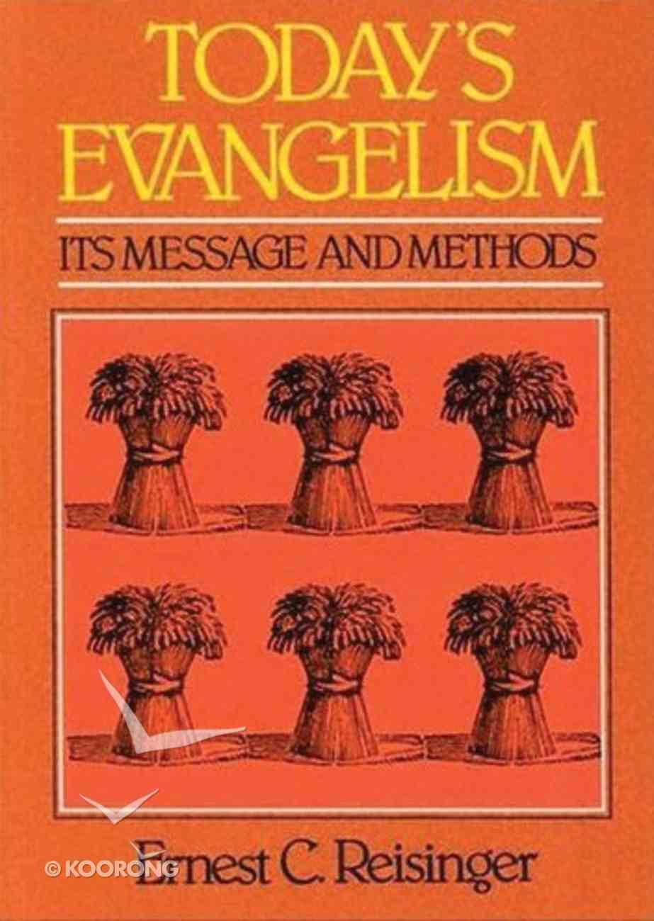 Today's Evangelism Paperback