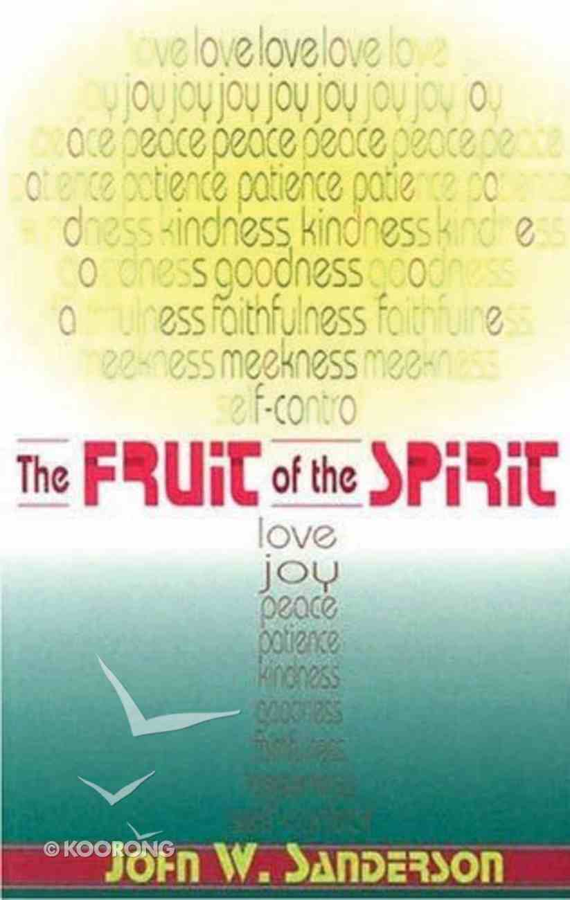 The Fruit of the Spirit Paperback