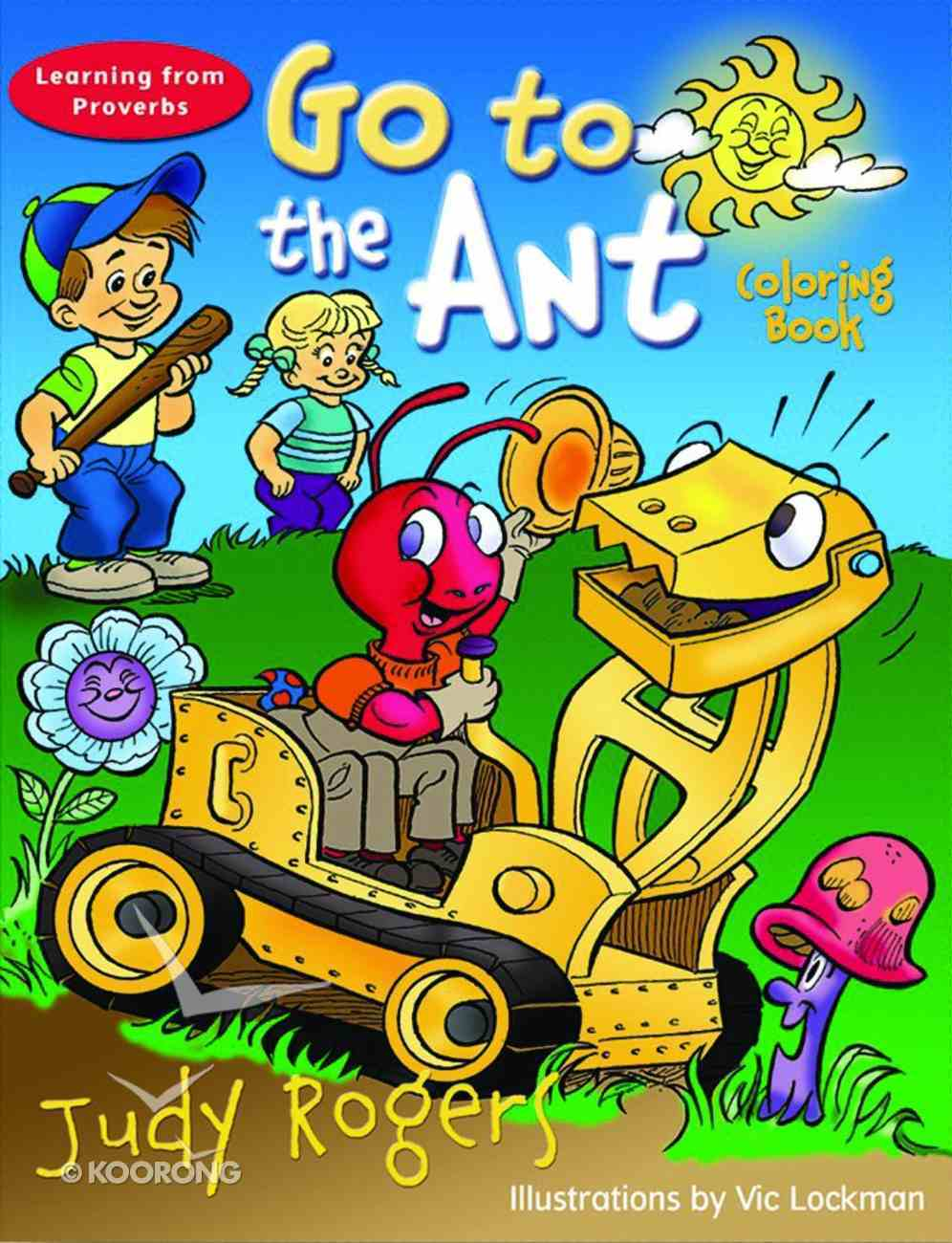 Go to the Ant (Colouring Book) Paperback
