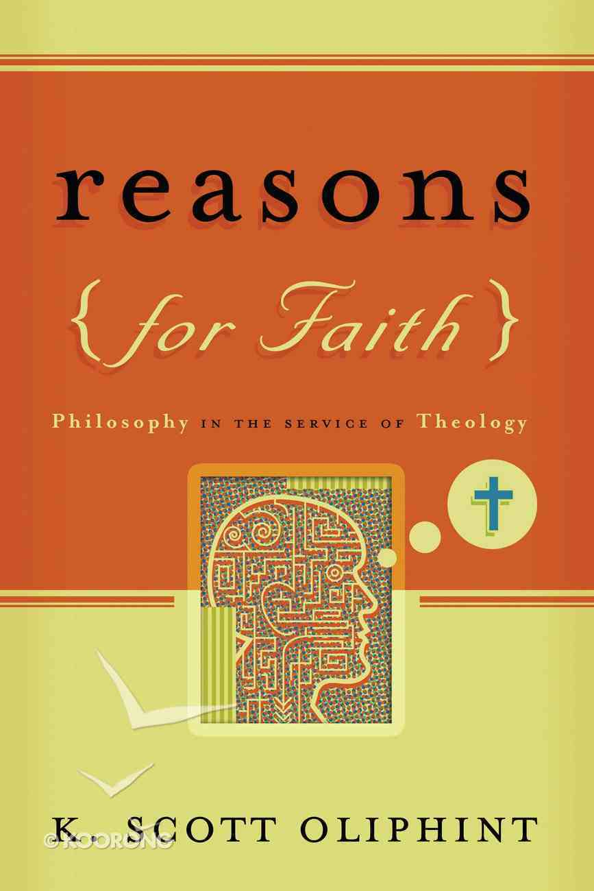 Reasons For Faith Paperback