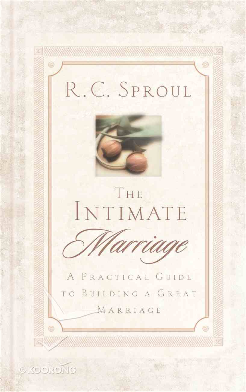 The Intimate Marriage Hardback