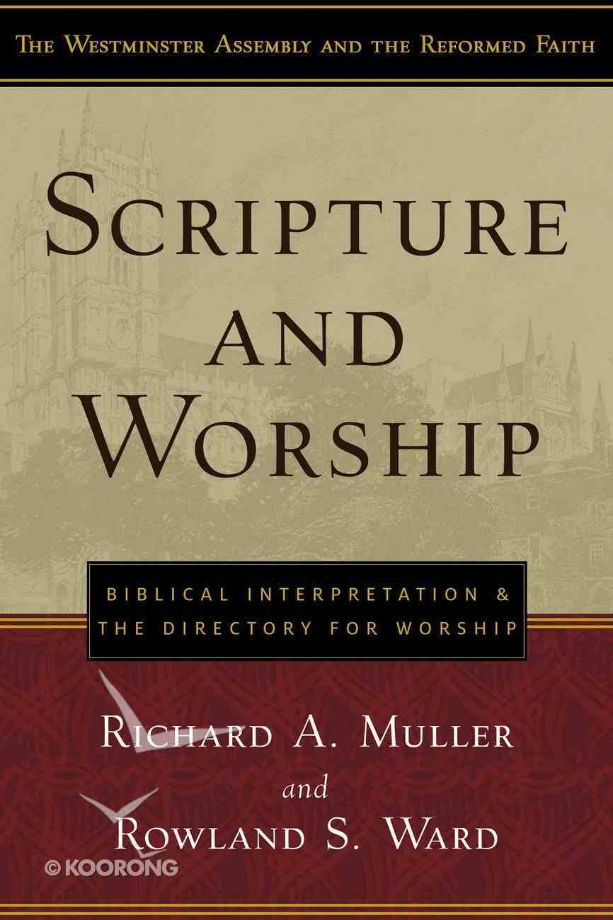 Warf: Scripture and Worship Paperback
