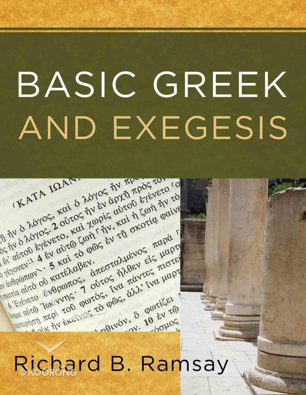 Basic Greek and Exegesis Paperback